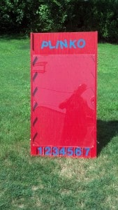 rent this Plinko for your backyard party!