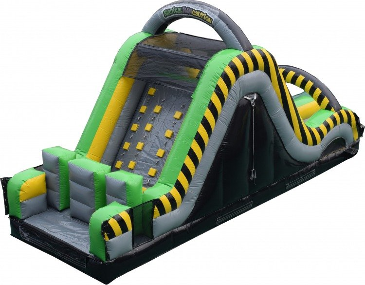 Radical Run Obstacle Course Slide