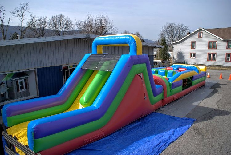 60 Foot Mega Obstacle Course